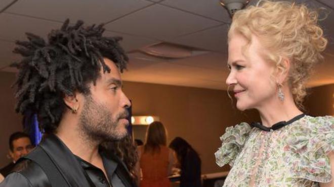 Nicole Kidman estuvo a punto de casarse con Lenny Kravitz