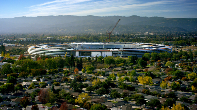 La nueva sede circular de Apple abrirá en abril