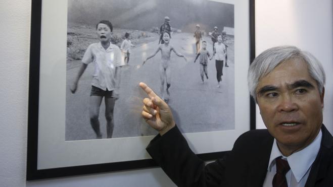 El fotógrafo de la guerra de Vietnam se retira