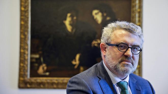 Falomir: «Nunca, nunca, nunca voy a pedir el 'Guernica' para el Prado»