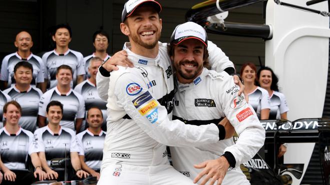 Jenson Button sustituirá a Fernando Alonso en el Gran Premio de Mónaco
