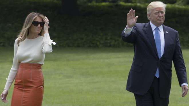 Trump comienza una gira de nueve días en medio de la mayor crisis de su corto mandato