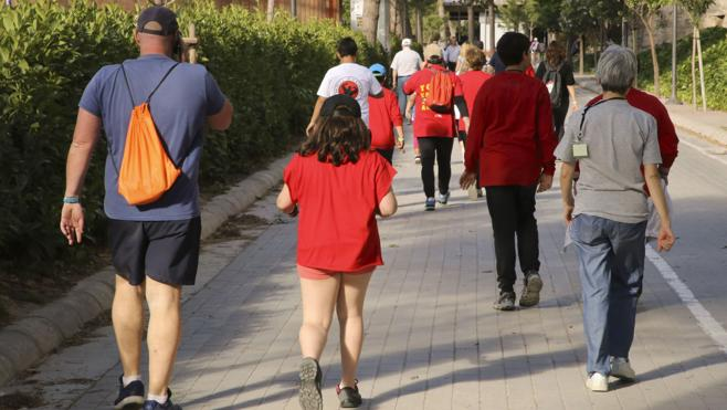 Contra la obesidad infantil, marcha rápida