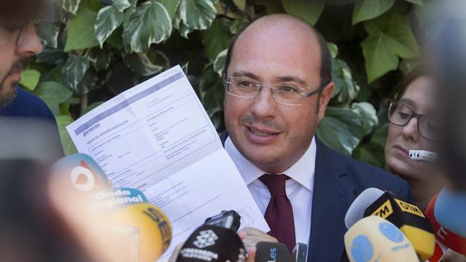 Pedro Antonio Sánchez, a un solo paso del banquillo tras ser procesado debido a 'Púnica'