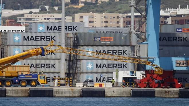 El último ciberataque impacta en los puertos de manera similar a la huelga de la estiba