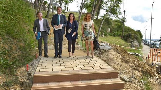 Se renuevan y amplían las conexiones peatonales entre Reina Victoria y Gamazo