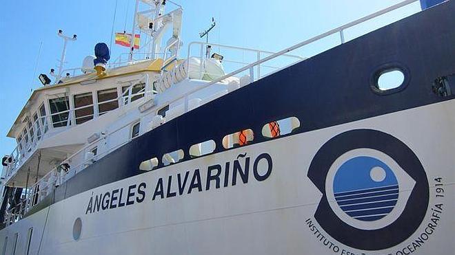 Puertas abiertas en Santander del buque del Instituto de Oceanografía