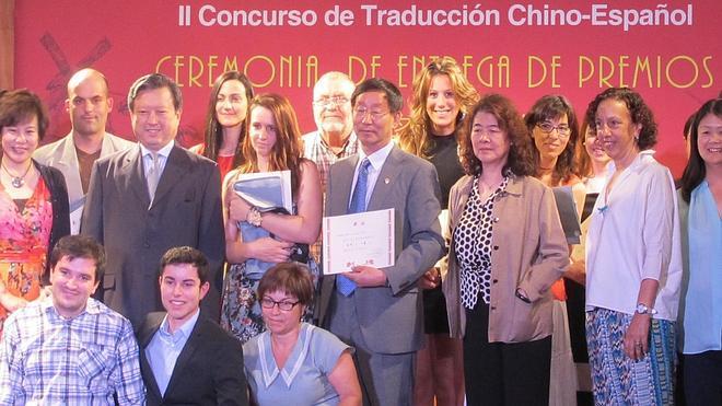 El cántabro Alio Vindio Uslé, tercer clasificado del concurso de traducción de chino