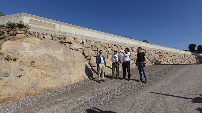 Avanzan las obras de mejora de viales en Campoo de Enmedio