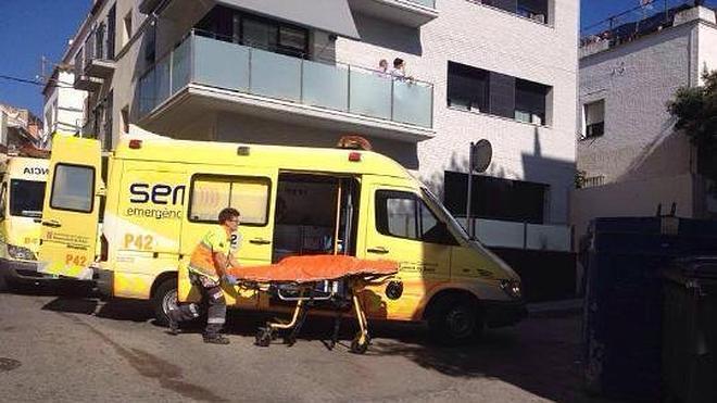 Cinco heridos al caer de una azotea cuando se hacían un 'selfie' en Sitges