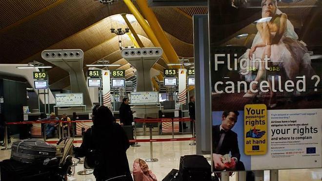 Las aerolíneas deben 190 millones a los pasajeros españoles por retrasos