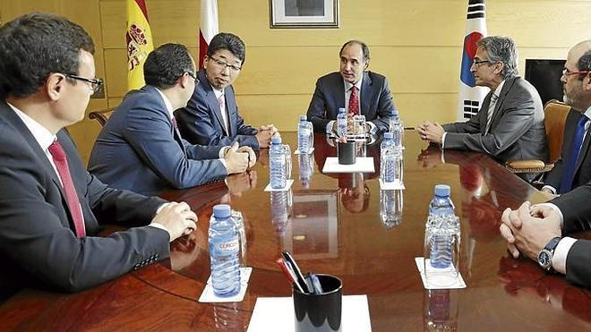 Cantabria busca atraer inversiones entre los empresarios surcoreanos