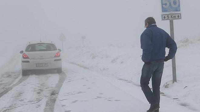 Cantabria se mantendrá en alerta amarilla por nevadas hasta la noche