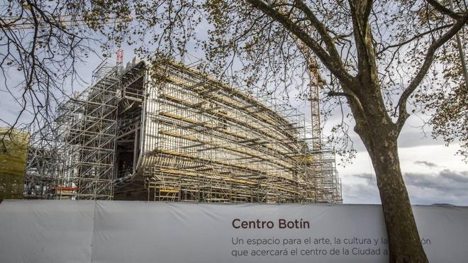 """La Fundación Botín dice que las obras del Centro """"no están paradas"""""""