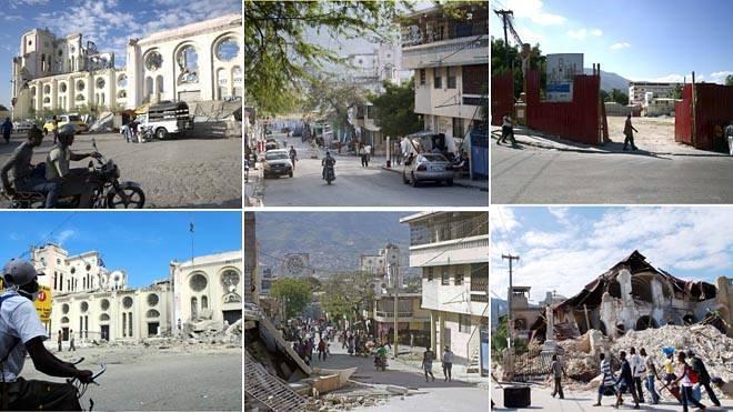 Cinco años del seísmo de Haití