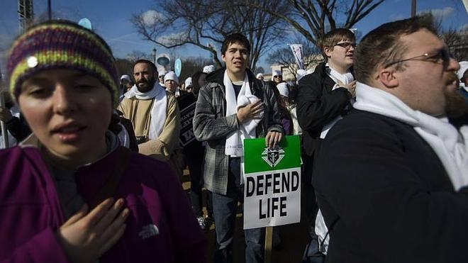 La 'Marcha por la vida' recorre Washington
