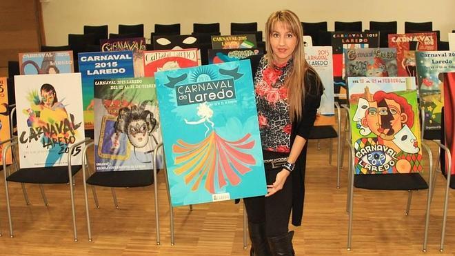 Un 'Estallido de color' para anunciar el carnaval de Laredo