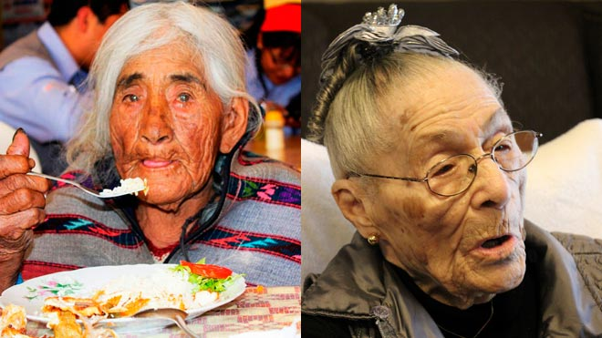 Mueren el mismo día las dos mujeres más longevas del mundo