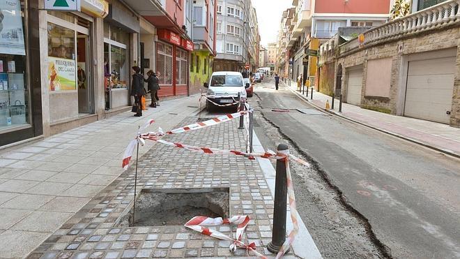 Las obras de renovación urbana de Cisneros concluirán a finales de este mes