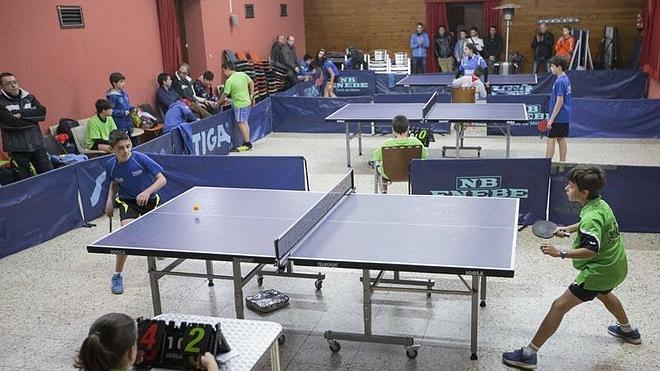 El II Torneo San Amancio de Tenis de Mesa reunirá en Torrelavega a más de cien deportistas