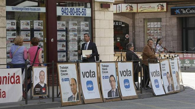 El PP promete el tercer carril de la A-8 a Vizcaya y la mejora del tren a Palencia
