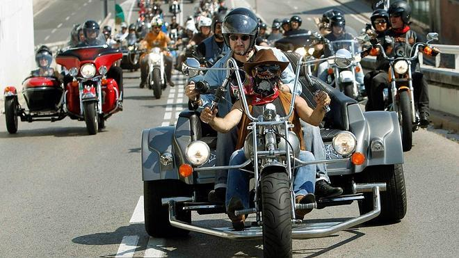 Madrid ruge a ritmo de Harley