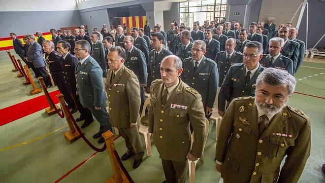 La Guardia Civil conmemora el 171 aniversario de su fundación imponiendo condecoraciones