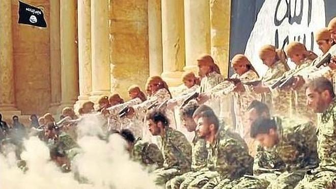 El Estado Islámico escenifica el terror en Palmira