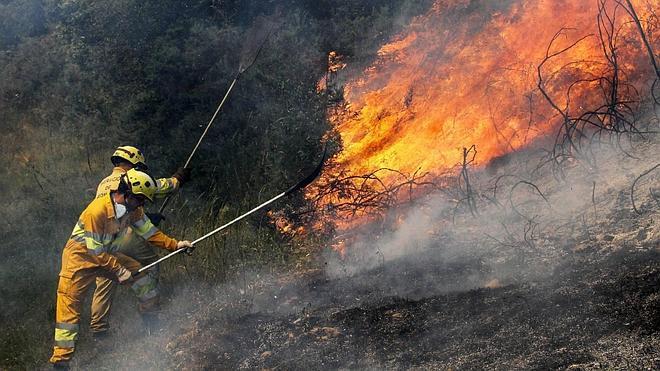 Cantabria está en alerta máxima por riesgo extremo de incendios forestales