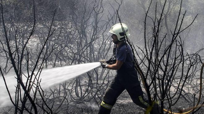 El incendio forestal de Camargo ha arrasado 22 hectáreas