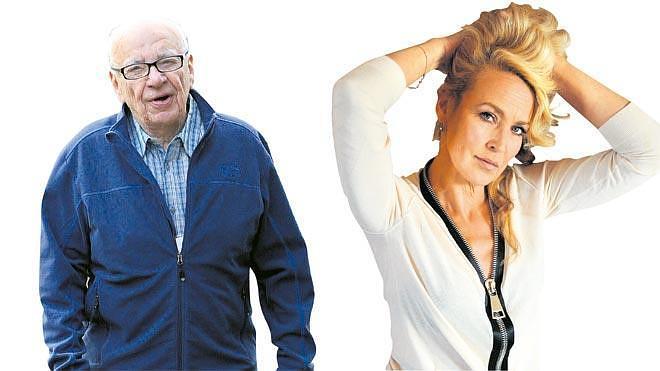 Murdoch y Jerry Hall, la pareja del otoño