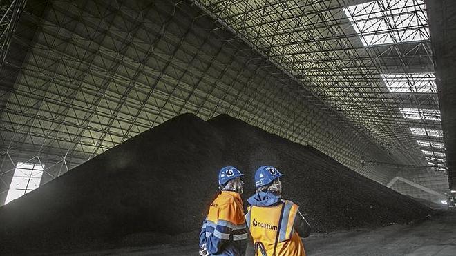 La terminal de carbón volverá en 2015 a niveles de actividad previos a la crisis