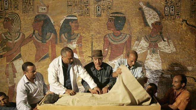 Caminando entre momias y faraones