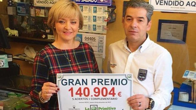 La Primitiva 'regala' a Muriedas 140.904 euros