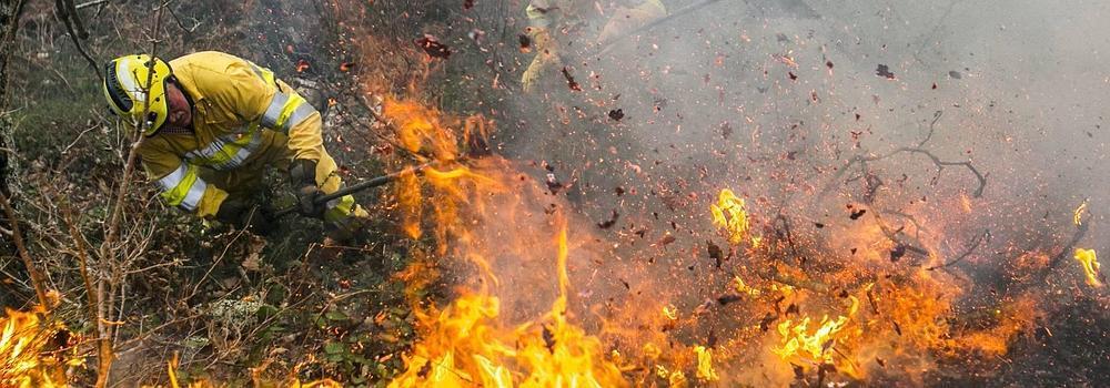 """""""Absoluta emergencia por el fuego"""""""