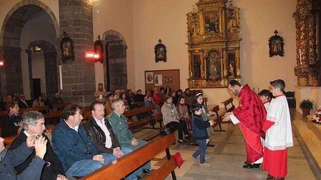 Potes celebró la festividad de San Vicente Mártir
