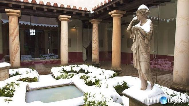 La casa museo Domus-Julióbriga