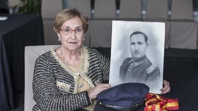 """""""Mi padre fue mi héroe por lo que mi madre contaba de él"""""""