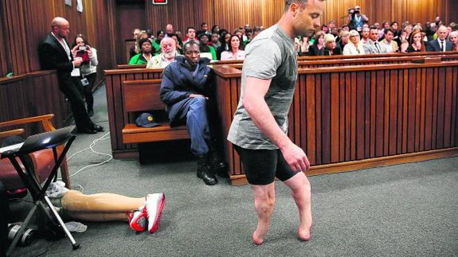 Pistorius intenta dar pena