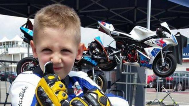 Un piloto de seis años decide donar sus órganos tras un accidente que al final le costó la vida