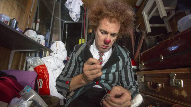 El circo entre bambalinas