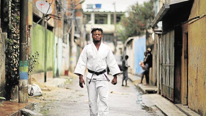 El refugio del judo en la favela