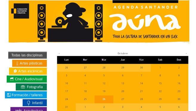 Agenda Santander Aúna, 50 proyectos y 500 actividades