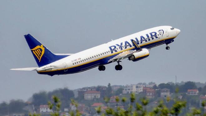 Ryanair programa sus vuelos en el Seve Ballesteros hasta abril de 2018