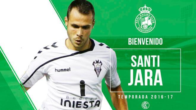 El Racing ficha a Santi Jara hasta junio
