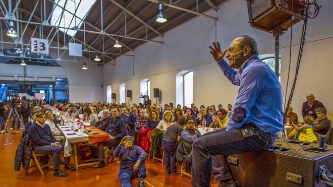 Marcano exhibe músculo ante 1.800 regionalistas que piden su vuelta a la política