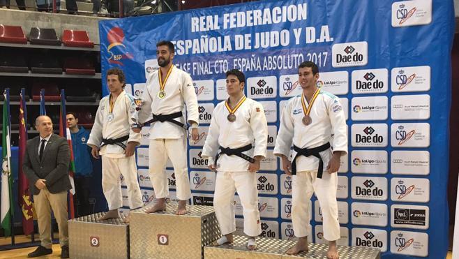 El cántabro Alfonso Urquiza, nuevo campeón de España de judo